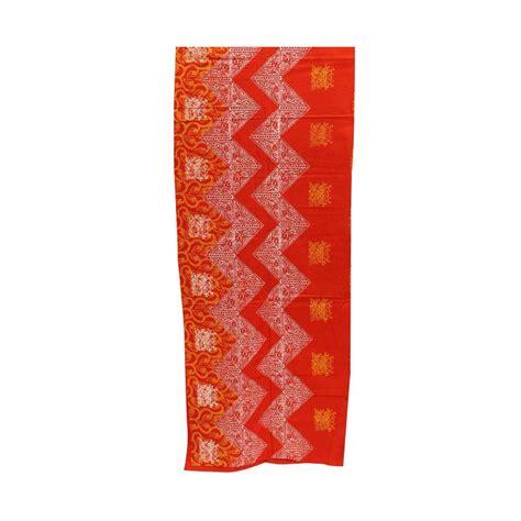 Kain Batik Cap Padang Merah P2u 7 oleh oleh khas indonesia blibli