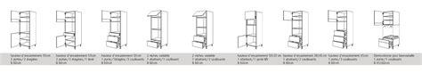 armoire four et micro onde colonne pour four et micro onde encastrable obasinc