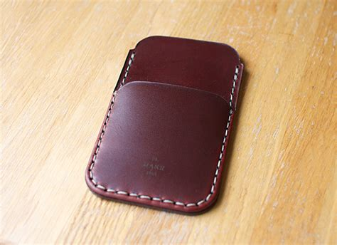Handmade Leather Accessories - in the shop handmade leather goods accessories by makr