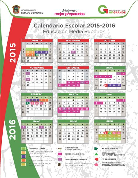 calendario escolar 2016 2017 mexico inicio de ciclo escolar 2016 2017 estado de mexico