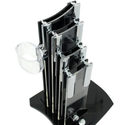 high quality kitchen knives reviews high quality black acrylic kitchen knife holder for 3 4