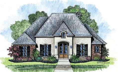country french house plans one story french country style house plans 2223 square foot home