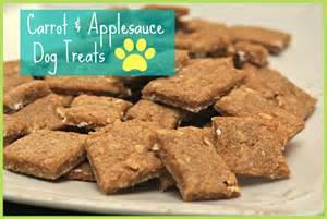 easy carrot applesauce dog treats recipe happyandsimple
