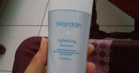 Toner Wardah review wardah lightening toner halal la