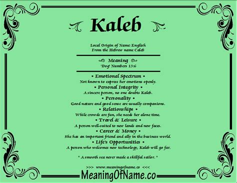 behind meaning kaleb meaning of name