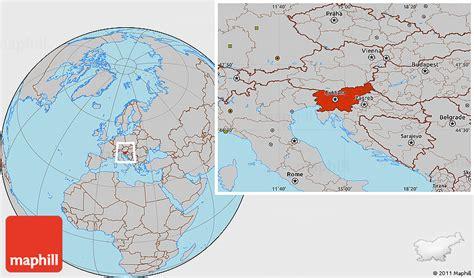 slovenia on world map image gallery slovenia location