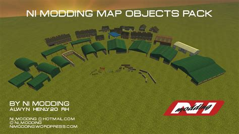 fs 2013 ni modding map objects pack v 1 buildings mod f 252 r