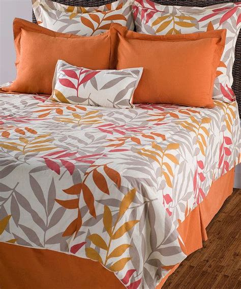 bright morning pillow top beds beige orange comforter set feelings throw pillows and
