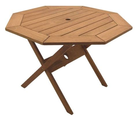 Patio Wood Table with Folding Outdoor Tables For Better Environment