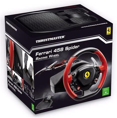volante xbox volante controle thrustmaster 458 spider xbox one