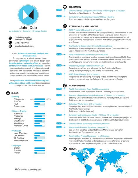 Best Resume It Professional by Gallery Of The Top Architecture R 233 Sum 233 Cv Designs 5
