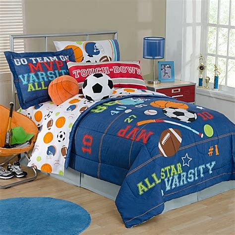 all sports bedding collection bed bath beyond