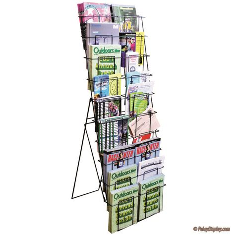 magazine rack literature rack floor rack magazine racks