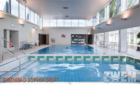 zwemles rijswijk zwemles zwembad sophia delft zweminstituut