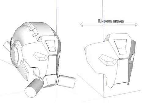 template mask papercraft papercraftsquare com new paper craft respirator mask