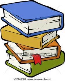 clipart libri clipart a stapel b 252 cher k12740081 suche clip