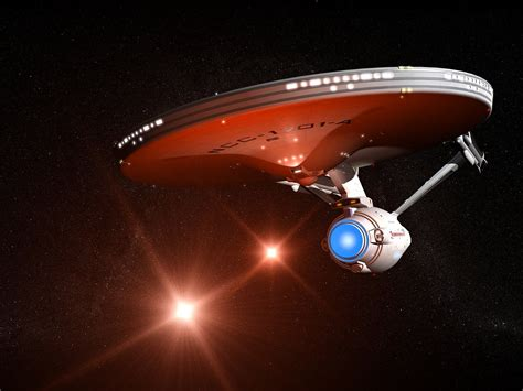 In The Enterprise starship uss enterprise 1701a free computer desktop