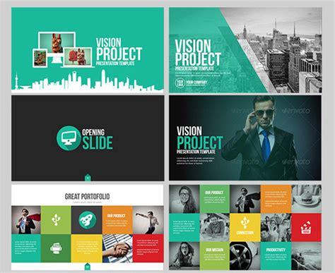 project vision template 21 project presentation ppt pptx