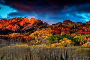 autumn sunset kebler pass kkart deviantart