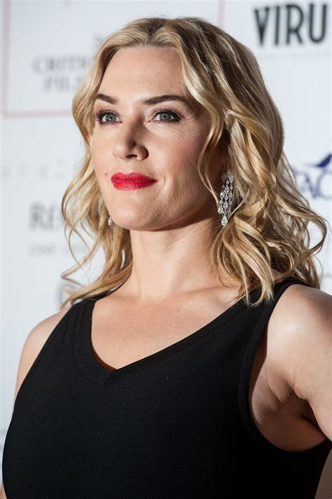 Kate Winslets by Kate Winslet 2016 The Critics Circle Awards
