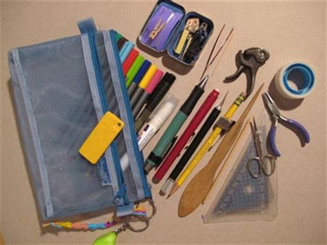 Origami Folding Tool - eighteen tools for an origami traveler