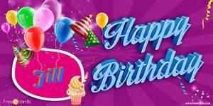 happy birthday jill free ecards