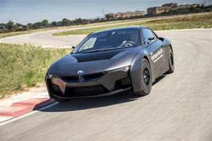 bmw shows hydrogen fuel cell cars i8