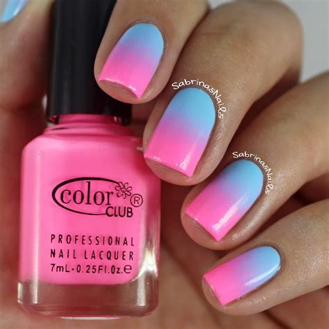 Nail And by How To Do Ombre Nails With Cotton Balls Tutorial And Photos
