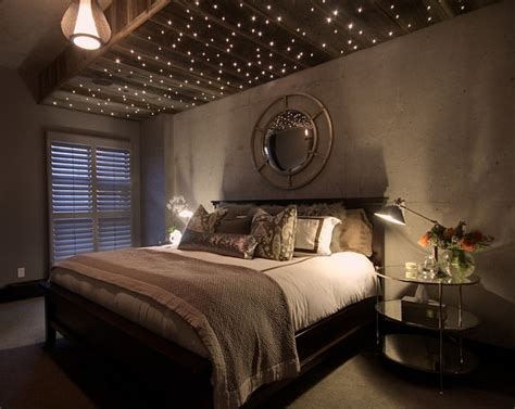 Twinkling Ceiling Lights Beat The Winter Blues With Uplifting Decor