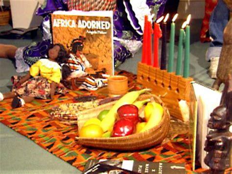 kwanzaa traditions video food network