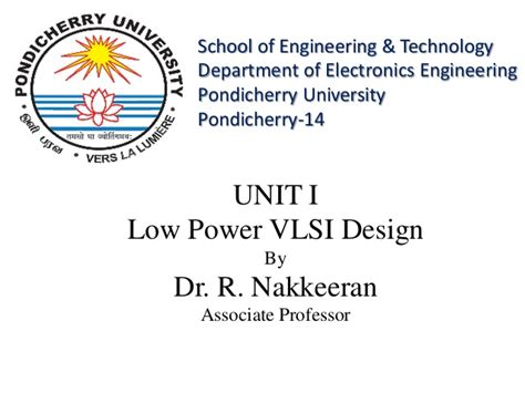vlsi layout design ppt low power vlsi design ppt
