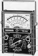 Multitester Sanwa Manual multitester tr 700 equipment sanwa electric instrument co