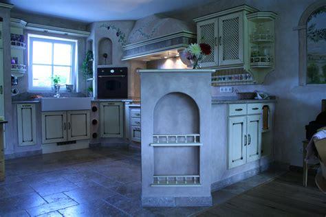 landhausküchen wohnzimmer shabby style