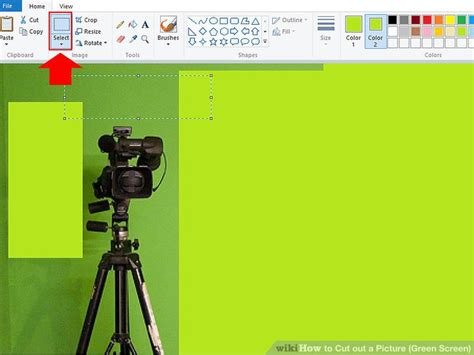how to cut out a picture green screen 15 steps with