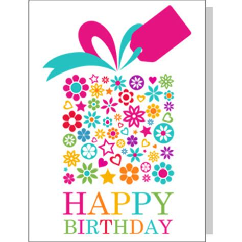 Birthday Gift Cards - happy birthday greeting card gifts delivery arena flowers