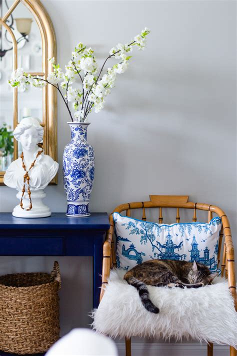 decorating with blue decorating with blue and white porcelain the home i create