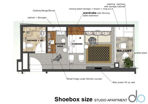 Studio Apartment Size by Living Room Designed By Atelier37 Shoebox Size Studio