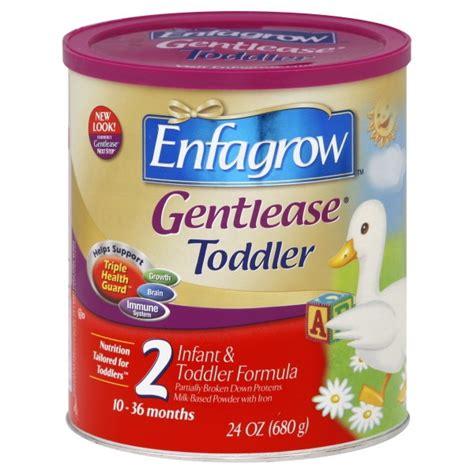Formula Enfagrow Enfamil Enfagrow Gentlease 2 Infant Toddler Formula With