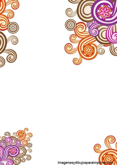 flores de hojas para imprimir 9 best images about hojas decoradas on pinterest portal