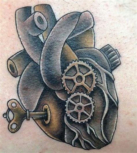 biomechanical heart tattoo designs biomechanical human heart ink pinterest heart and