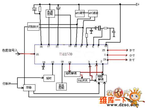 power supply integrated circuits the integrated circuit composed of ha11580 power supply circuit circuit diagram seekic