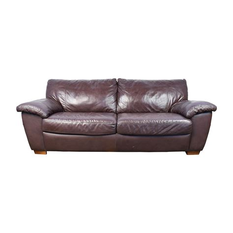 espresso leather couch 51 off espresso leather couch sofas