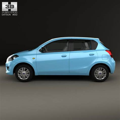 New Datsun Go Ready Stock datsun go 2014 3d model humster3d
