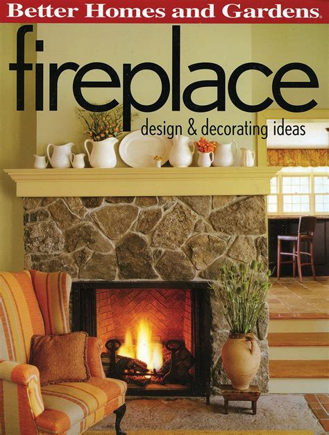 fireplace design decorating ideas better homes and