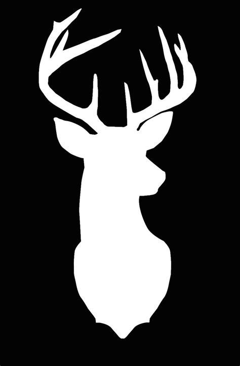 free printable reindeer head deer cameo silhouette file