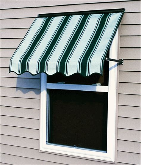 sunbrella fabric awnings without side wings