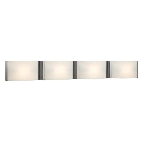 4 bulb bathroom light fixtures filament design negron 4 light chrome halogen bath vanity
