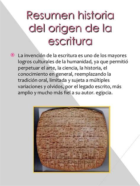 libro la invencin de la historia de la escritura