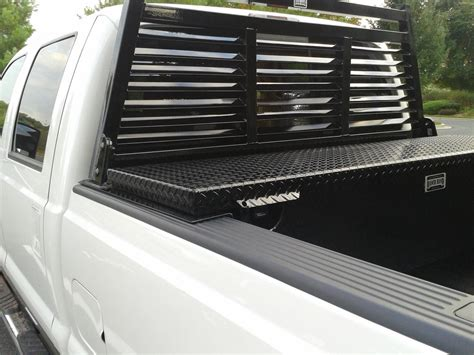 Headache Rack With Tool Box ranchhand headache rack toolbox combo ford truck