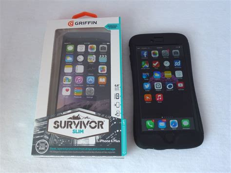 griffin survivor stand replacement griffin survivor slim for iphone 6 plus front view with